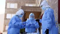 Equip de mostres d'atenció primària de Lleida per fer proves PCR