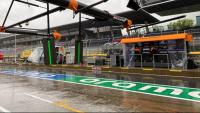 Pluja persistent al Red Bull Ring