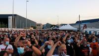 L'última protesta dels treballadors de Nissan que estan prodigant les mobilitzacions es va fer divendres passat davant la planta de Montcada i Reixac