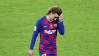 Antoine Griezmann no havia tingut encara cap lesió estant al Barça