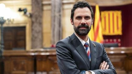 El president del Parlament, Roger Torrent
