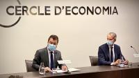 Aragonès a la conferència del Cercle d'Economia