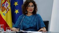 La ministra d'Hisenda i portaveu del govern espanyol, Maria Jesús Montero