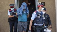La detenció d'un dels islamistes, ahir al matí, al barri de la Barceloneta de Barcelona