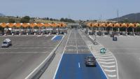 La barrera de la Roca, un dels peatges de l'AP-7 entre Tarragona i la Jonquera que quedaran fora de servei a partir del 31 d'agost