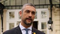 Bernat Solé, conseller d'Acció Exterior, Relacions Institucionals i Transparència