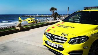 Un home de 88 anys mor ofegat a la platja de les Madrigueres del Vendrell