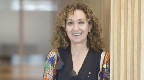 <b>Ester Capella, </b>dijous, al Districte Administratiu de Barcelona