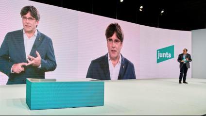 Puigdemont serà el president de JxCat amb el 99,3% dels vots dels afiliats