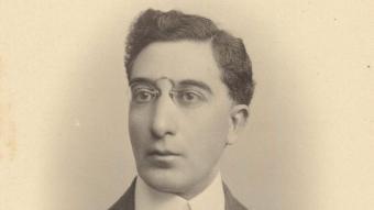 Kavafis, cap a 1896, quan va escriure el conte