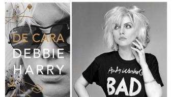 Debbie Harry, a la portada del llibre i en una imatge promocional. La foto de la portada és de Chris Stein