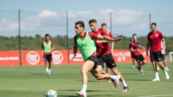 El Girona va tornar als entrenaments