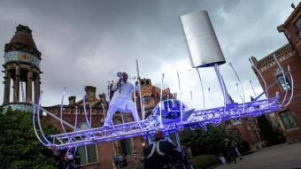 La Fura dels Baus interpreta l'espectacle 'NN (Nueva Normalidad)' al festival Cruïlla XXS