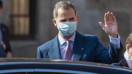 El rei espanyol Felip VI a La Rioja