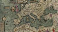 El mar Mediterrani del 1375, quan Barcelona ja era un port marítim important