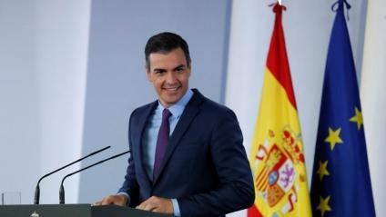 Sánchez responia amb un somriure a la pregunta de si ha estat deslleial amb Iglesias