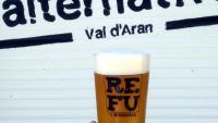Cervesa de la cervesera local Refu de la Val d'Aran