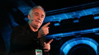 El responsable d'El Bulli Foundation, Ferran Adrià, al Tech Spirit a la Llotja de Mar