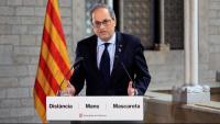 El president de la Generalitat, Quim Torra