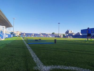 Els jugadors ja disponibles del Fuenlabrada van fer ahir una nova sessió d'entrenament