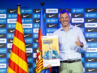 Jasikevicius, a punt per iniciar la seva etapa com a entrenador del Barça