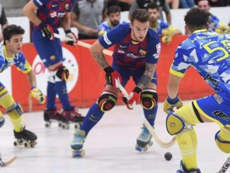 La final de la lliga catalana de l'any passat entre el Barça i el Caldes