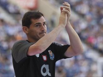 Iker Casillas va anunciar ahir la seva retirada del futbol professional