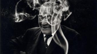 Josep Pla, el dia del seu setantè aniversari, el 1967.