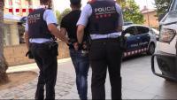 Una de les detencions de la desarticulació d'una organització criminal que feia robatoris amb força en domicilis des de l'Hospitalet de Llobregat