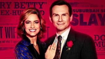 Amanda Peet i Christian Slater, protagonistes d'aquesta sèrie
