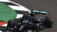 Lewis Hamilton avui a Silverstone