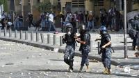 Un policia mort i 172 persones ferides en violentes protestes a Beirut