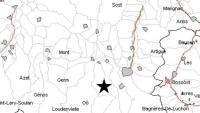 Terratrèmol de 2,9 graus a l'Alta Garona lleugerament percebut a la Val d'Aran