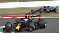 Max Verstappen (Red Bull) durant la cursa d'avui