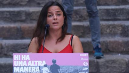 Maria Sirvent, diputada de la CUP al Parlament