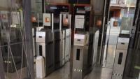 Senyals en una estació de tren