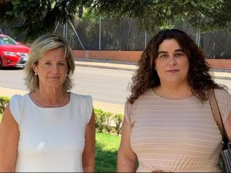 Marta Pajares i Maribel Zamora