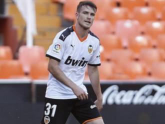 Adrián Guerrero ha debutat amb el València