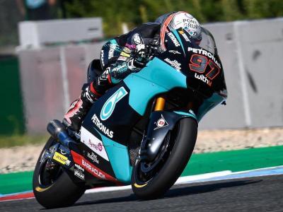 Xavi Vierge estarà en la dotzena posició de la graella de moto 2