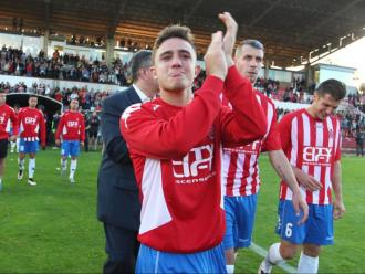 Maffeo, Lejeune i Granell, desfets després de perdre contra l'Osasuna,  en l'últim partit de 'play-off' del Girona