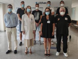 El Montakit Fuenlabrada aquest dissabte a l'Hospital Vithas Madrid Pardo de Aravaca