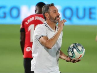Vicente Moreno s'estrena al capdavant de l'Espanyol
