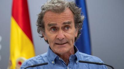 El director del Centre de Coordinació d'Alertes i Emergències Sanitàries (CCAES), Fernando Simón