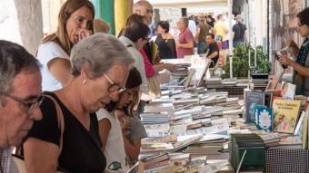 Aspecte de la Fira del Llibre del Pirineu del 2018