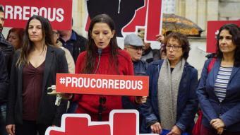 Presentació plataforma Prou Correbous el febrer del 2020 a Vidreres