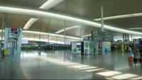 Terminal 1 de l'aeroport de Barcelona - El Prat el 5 de juliol de 2020
