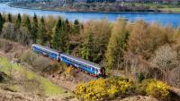 Un dels trens d'ScotRail a Escòcia