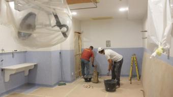Entre altres s'han habilitat  noves habitacions i àrea de descans de metges de guàrdia.