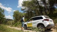 Vehicle del pla de prevenció d'incendis forestals de la Diputació de Barcelona