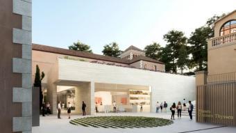 Exterior de la nova construcció, en una recreació virtual.